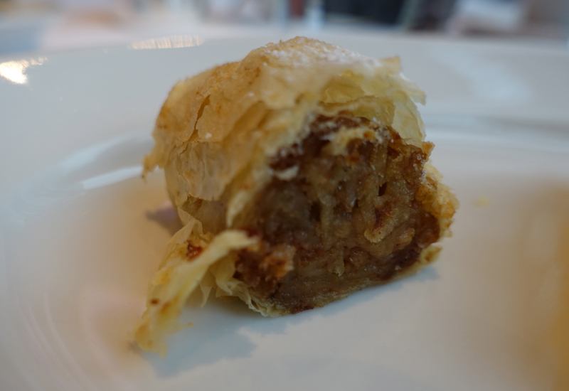 Apple Strudel, Cornerstone Brunch, Park Hyatt Seoul