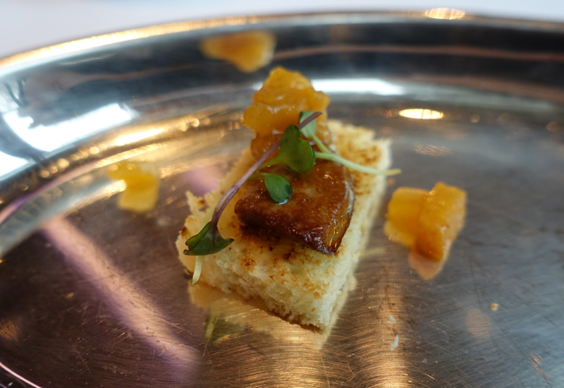Seared Foie Gras on Brioche, Cornerstone Brunch, Park Hyatt Seoul