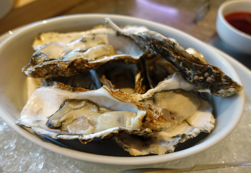 Fresh Oysters, Cornerstone Brunch, Park Hyatt Seoul