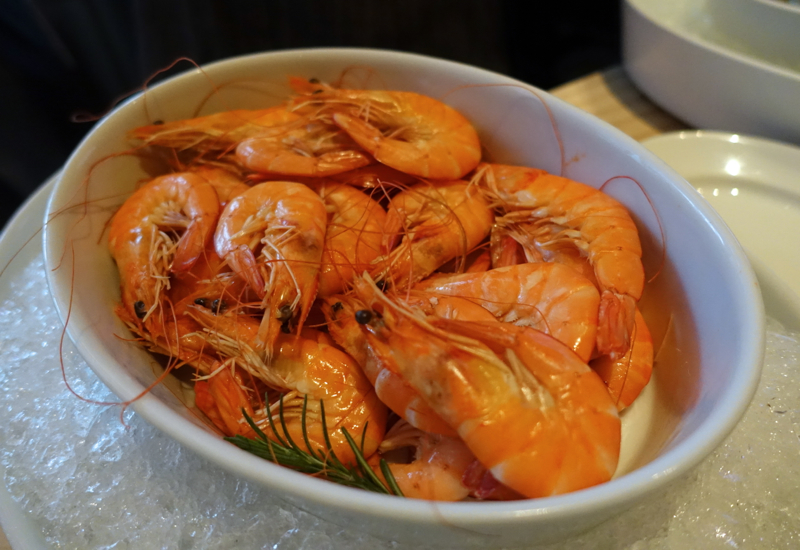 Fresh Prawns, Cornerstone Brunch, Park Hyatt Seoul