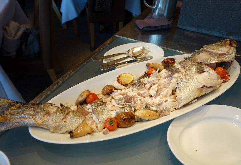 Whole Fish, Cornerstone Brunch, Park Hyatt Seoul