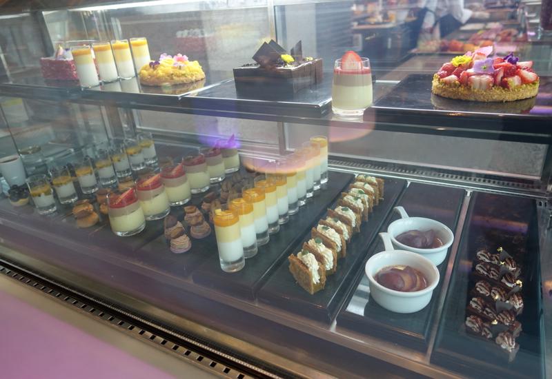Desserts, Cornerstone Restaurant Review, Park Hyatt Seoul