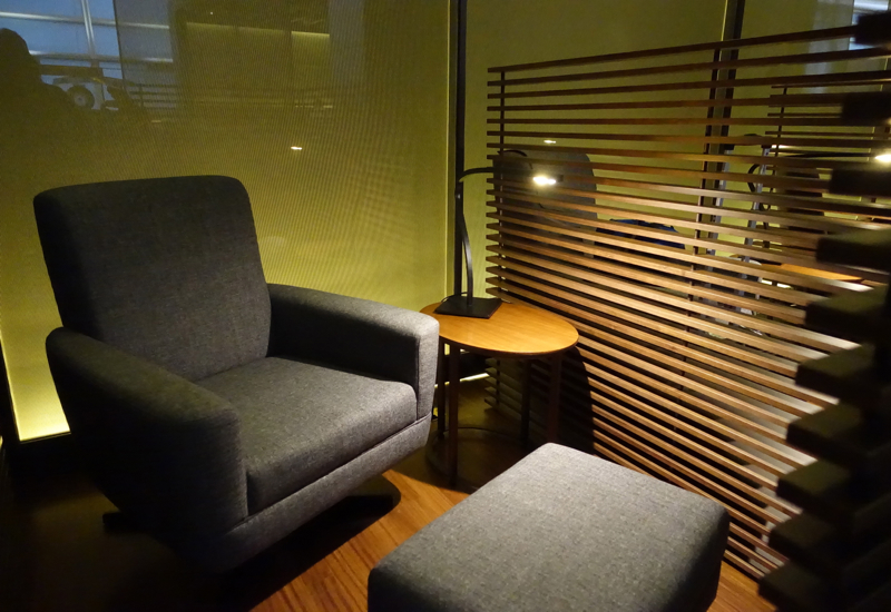 Review-Asiana Business Class Lounge, Seoul - Relaxation Chair