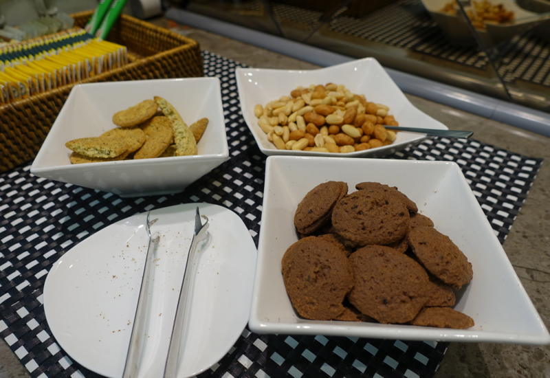 Asiana Business Class Lounge Review - Cookies