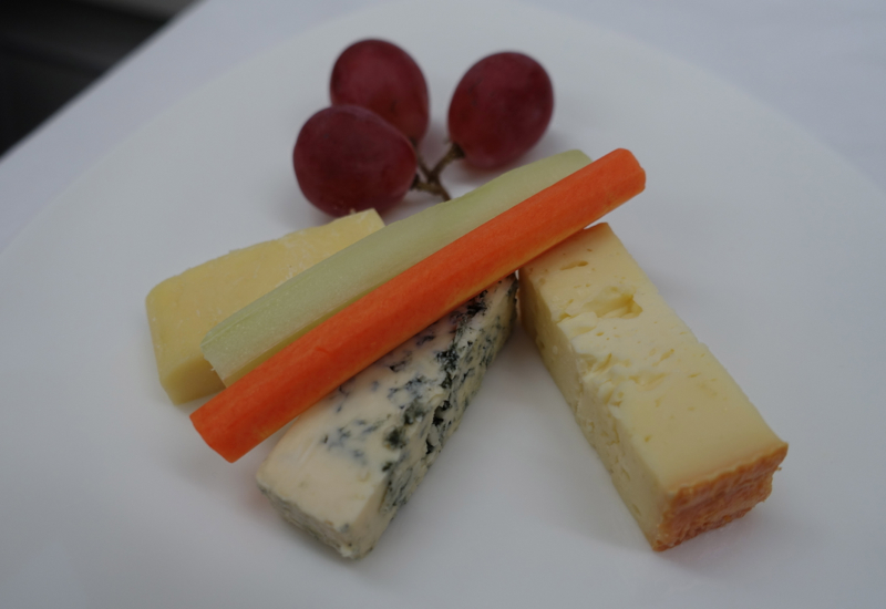 Cheese Plate, Asiana Business Class
