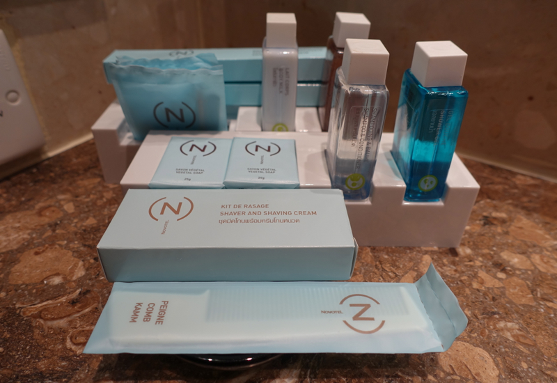 Bath Amenities, Novotel Bangkok Airport Hotel