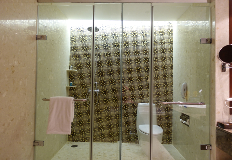 Review-Novotel Bangkok Airport Hotel - Suite Shower and WC