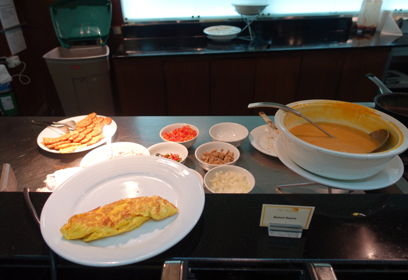 Made to Order Omelet at Novotel Bangkok Airport Hotel