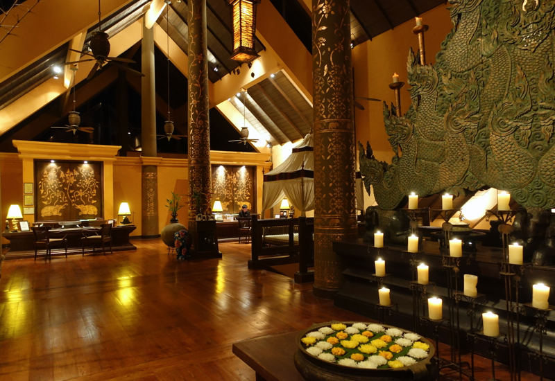 Review-Anantara Golden Triangle Elephant Camp and Resort -Reception and Lobby