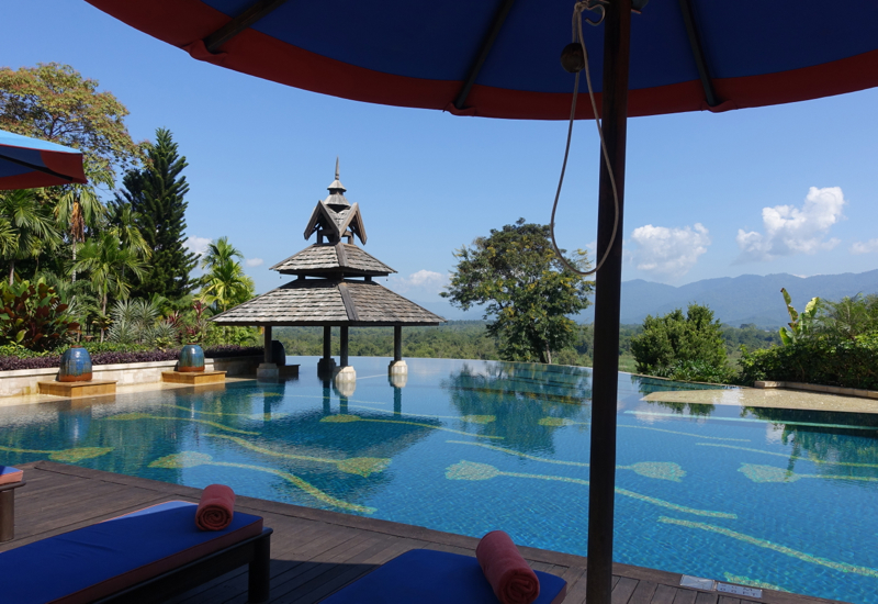 Swimming Pool, Anantara Golden Triangle Elephant Camp and Resort