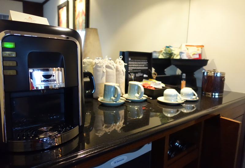 Review-Anantara Golden Triangle-Espresso Machine