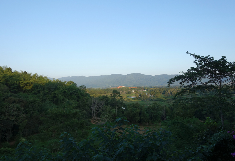 View from Anantara Suite, Anantara Golden Triangle Elephant Camp