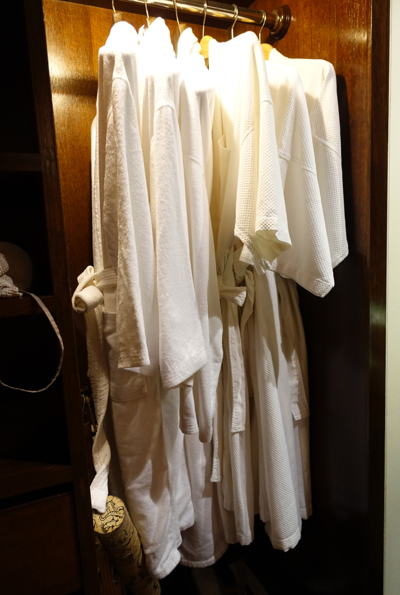 Bathrobes, Anantara Golden Triangle Elephant Camp