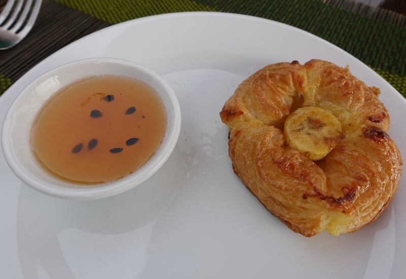 Fresh Danish Pastry with Passionfruit Jelly, Breakfast at Anantara Golden Triangle