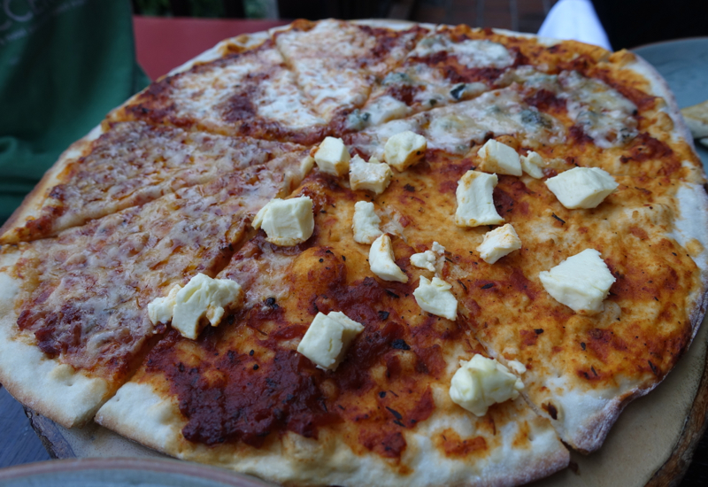4 Cheese Pizza, Lunch at Sala Mae Nam, Anantara Golden Triangle