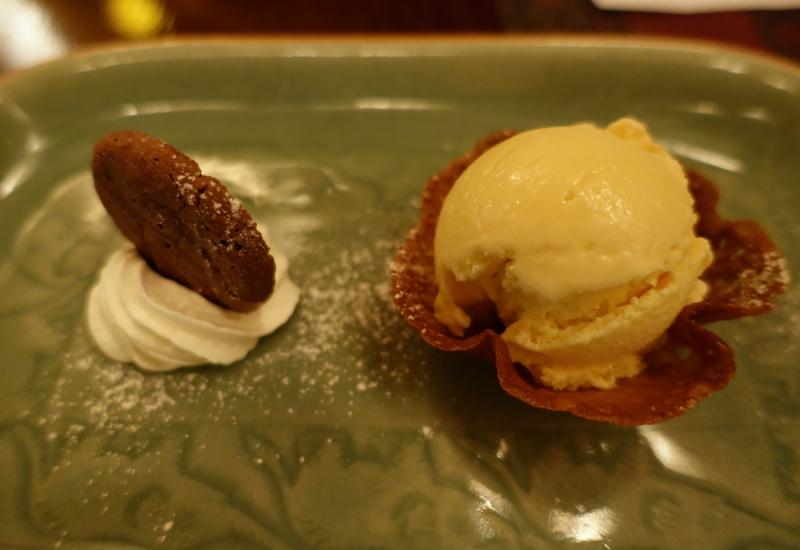 Passionfruit Ice Cream, Dessert at Sala Mae Nam, Anantara Golden Triangle