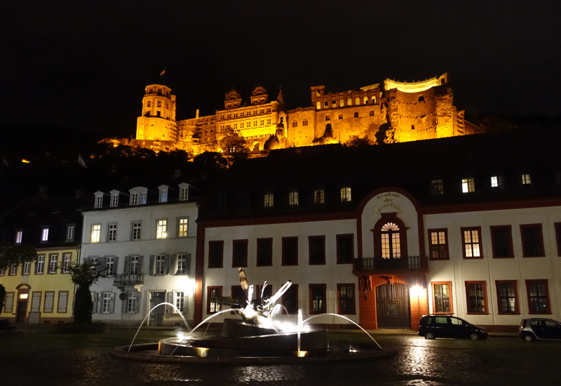 What to Do in Heidelberg: Heidelberg Castle at Night