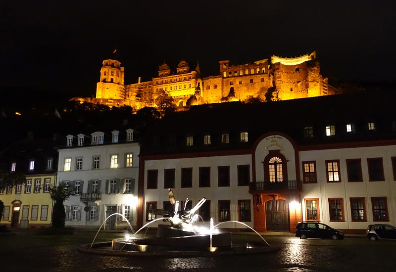 What to Do in Heidelberg: Heidelberg Castle at Night