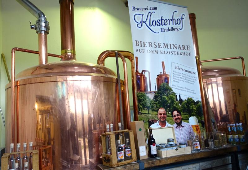 Organic Beer at Brauerei zum Klosterhof Heidelberg
