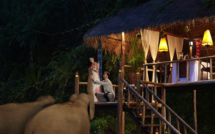 Dining by Design at Anantara Golden Triangle Elephant Camp