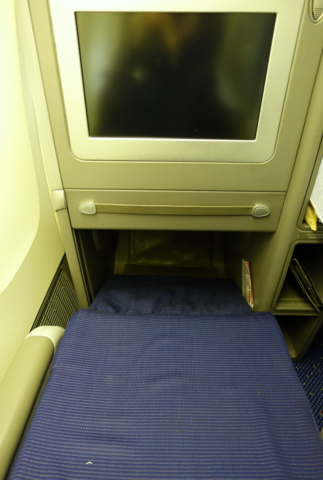 KLM Business Class Angled Flat Seat