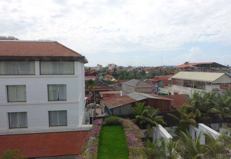 View from Park Deluxe Room, Park Hyatt Siem Reap Review