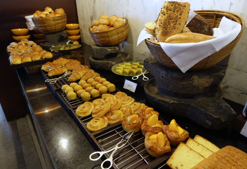 Breakfast Buffet Breads and Pastries, Park Hyatt Siem Reap