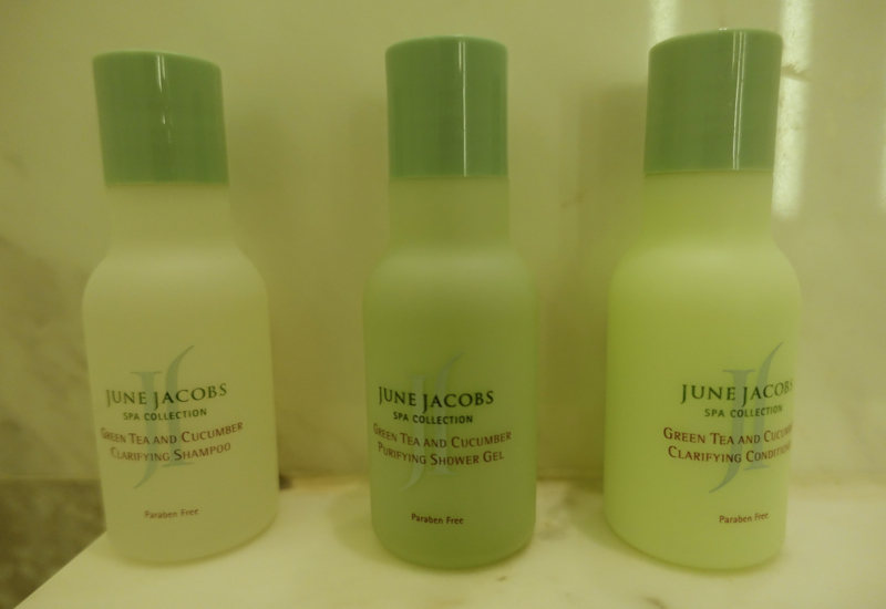 June Jacobs Bath Products, Park Hyatt Siem Reap