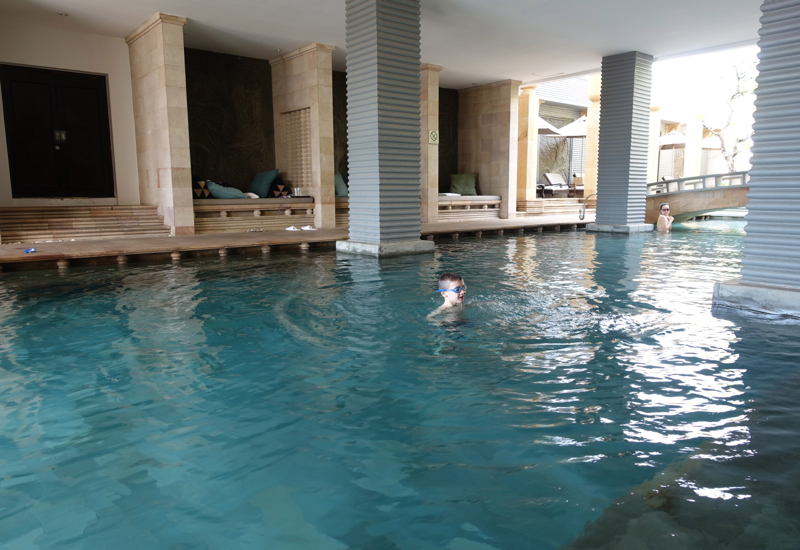 Park Hyatt Siem Reap Review - Shaded Area of Pool