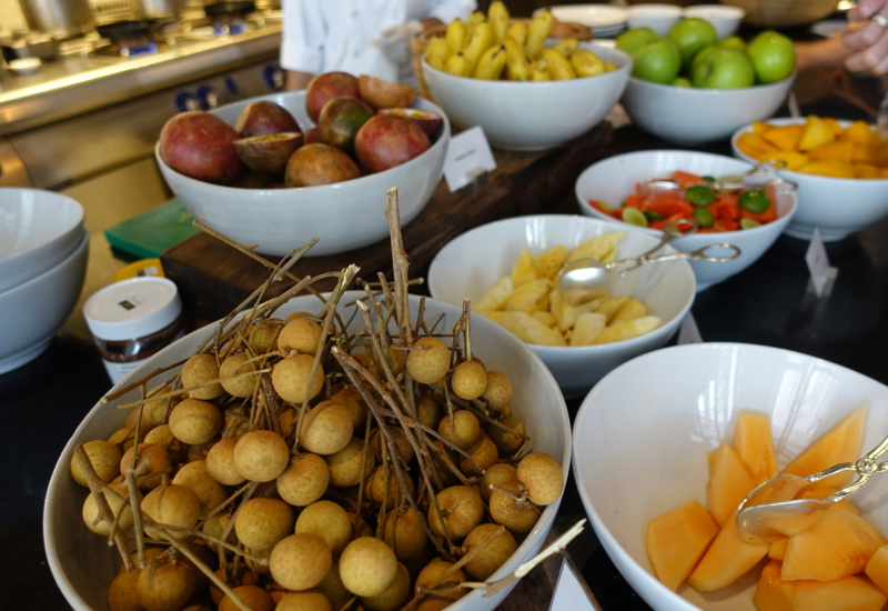 Park Hyatt Siem Reap Breakfast Buffet - Fruits