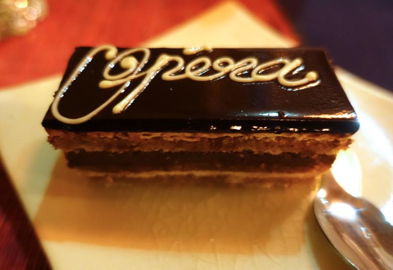 Opera Cake Dessert, Touich Restaurant, Siem Reap