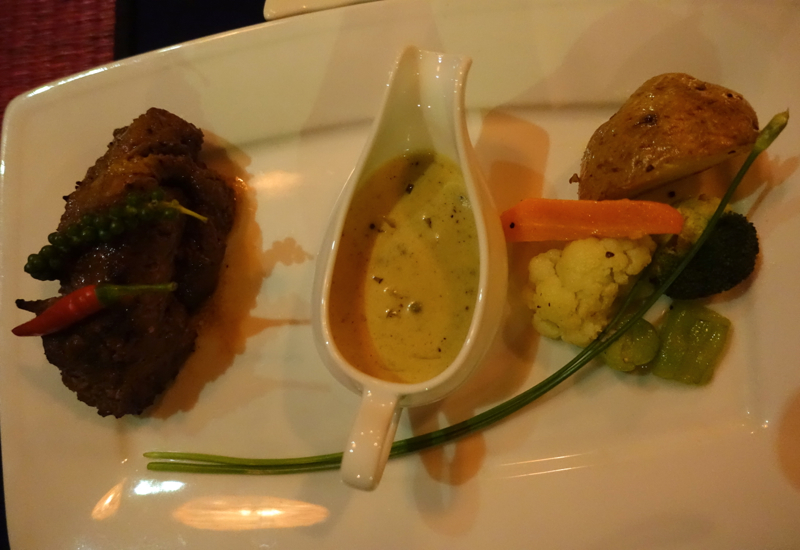 Khmer Tenderloin Beef with Peppercorn Sauce, Touich Restaurant, Siem Reap