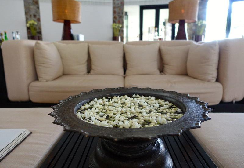 Amansara Dining Room - Jasmine Blossoms