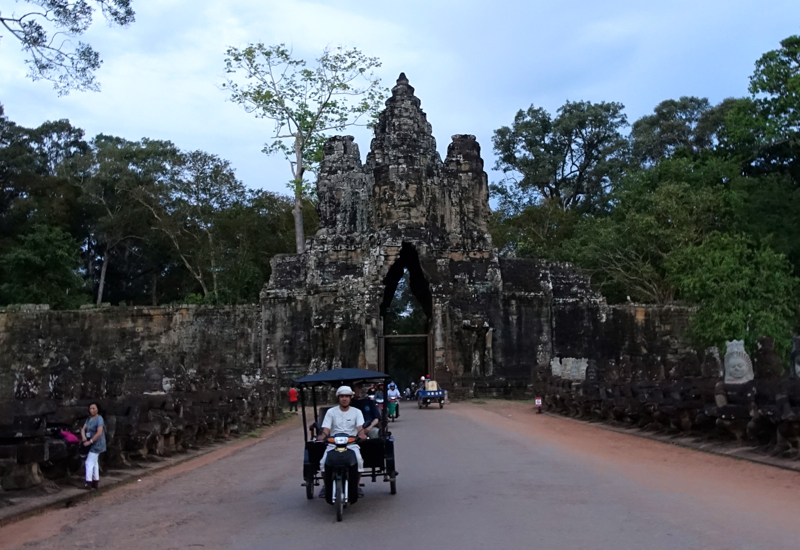 Visiting Angkor Temples with an Amansara Remork