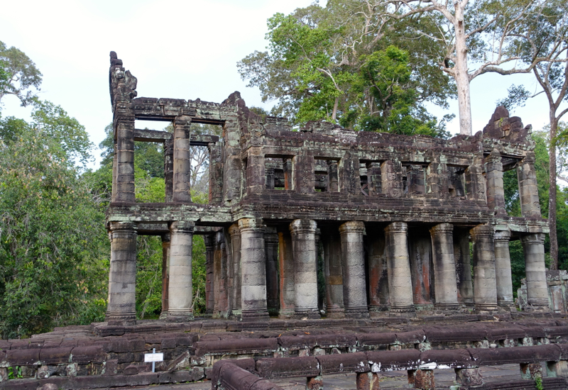 The Only Surviving Two Storied Building of the Angkor Temples is at Preah Khan