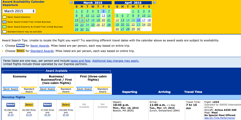 United MileagePlus Saver Award Cheaper Than Delta Level 1 Award