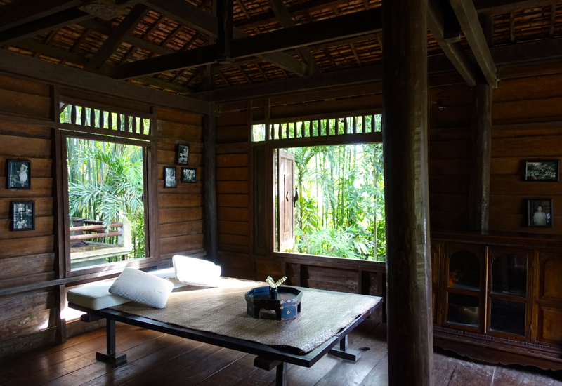 Amansara Khmer Village House Interior and Day Bed