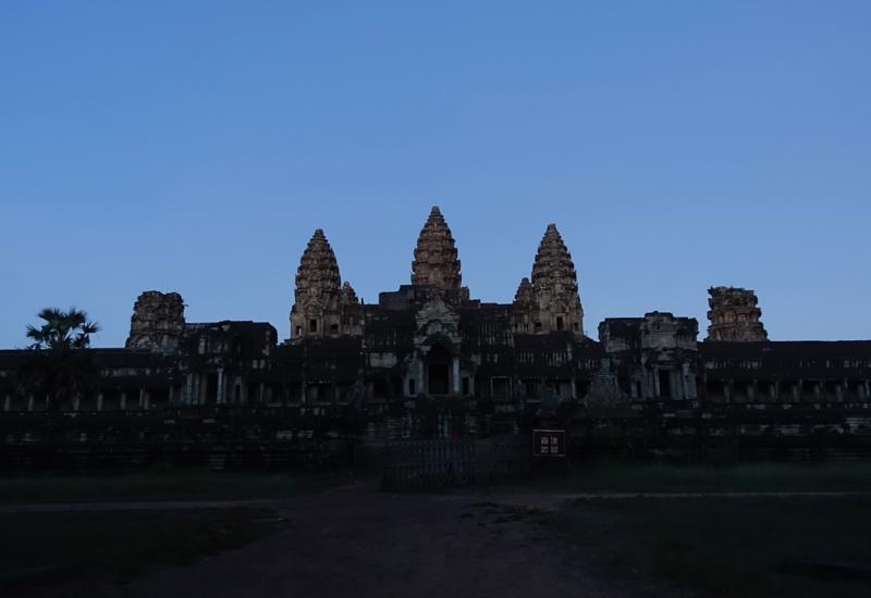 Angkor Wat Near Dawn