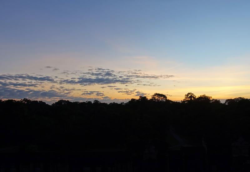 Sunrise Viewed from Angkor Wat