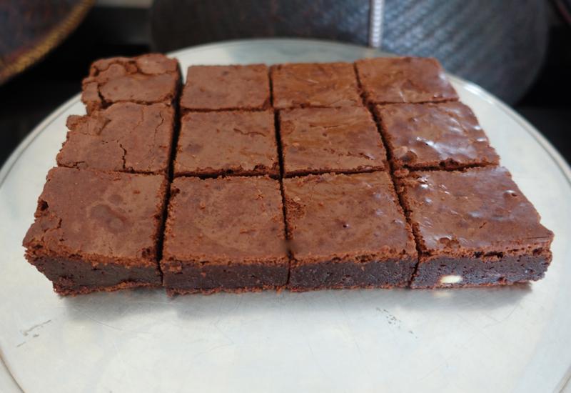 Amansara's Addictive Dark Chocolate Brownies