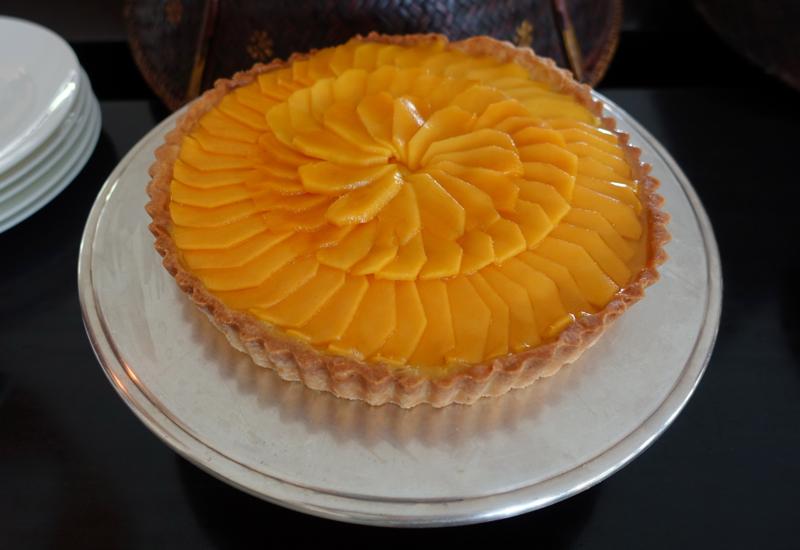 Mango Tart for Dessert, Amansara