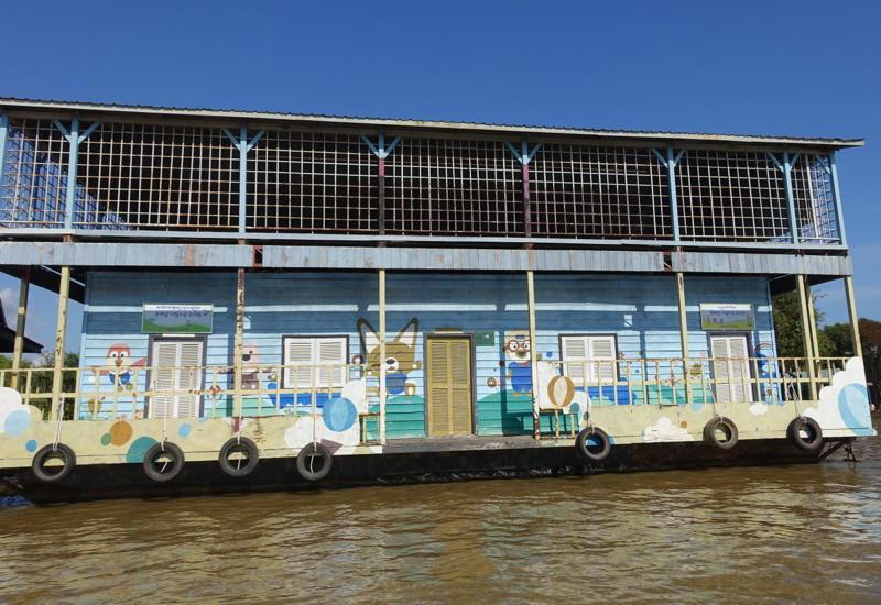 Floating School, Amansara Tonle Sap Boat Cruise