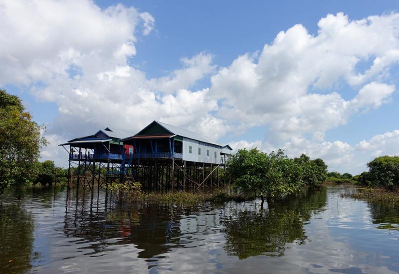 Stilted Village, Amansara Tonle Sap Boat Cruise