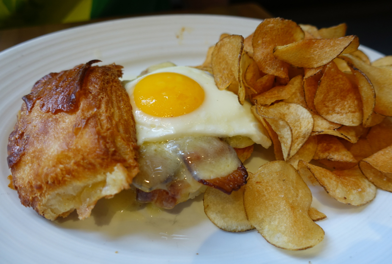 Bacon, Egg and Cheese Sandwich, Island Creek Oyster Bar Brunch Review