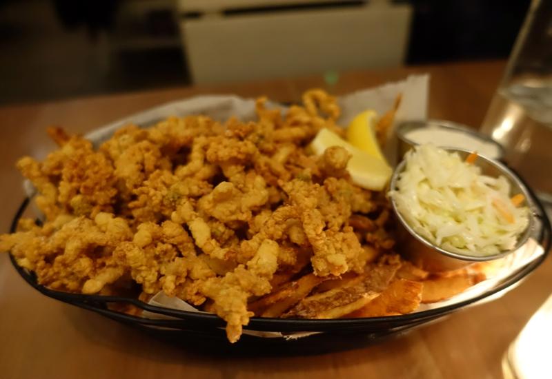 Fried Clams, Island Creek Oyster Bar