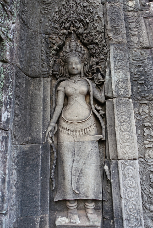Apsara Carving, The Bayon