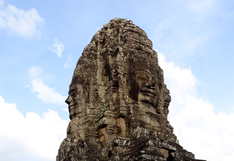 Heads at The Bayon Temple