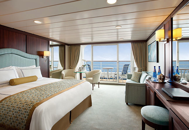 Top 2015 Luxury Cruise Deals - Oceania Insignia, Penthouse Suite