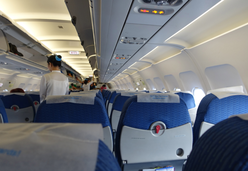 Bangkok Airways Review - Cabin