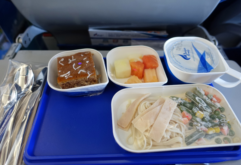 "Bangkok Airways Review - ""Food"""